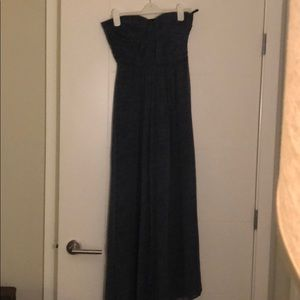 Twelfth Street by Cynthia Vincent navy maxi dress